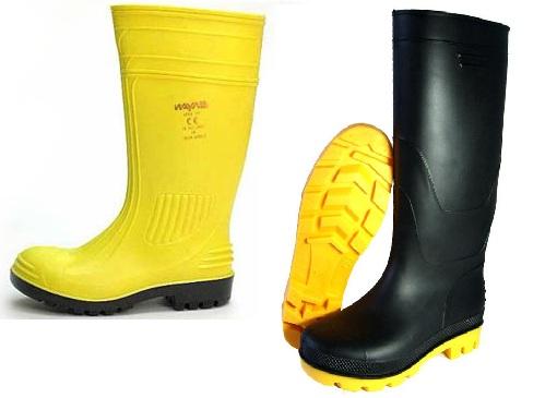 PVC Rubber Boots (High Cut & Steel Cap)
