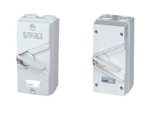 Weather Protection Isolating Switch