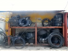 HDPE pipe (rolls)